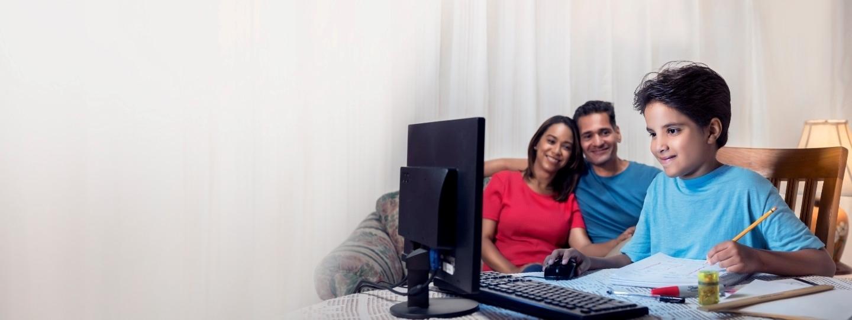 con Internet en el hogar