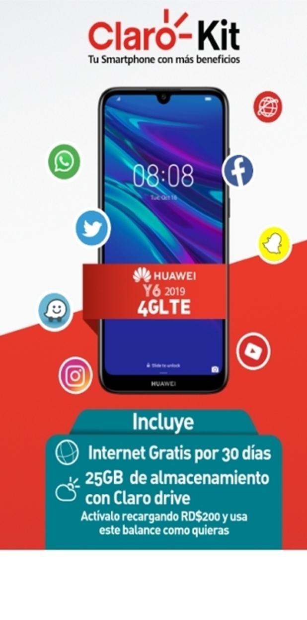 Claro Kit Huawei Y6 2019